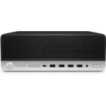 HP ProDesk 600 G3 3.4 GHz 7th gen Intel® Core™ i5 i5-7500 Black, Silver SFF PC