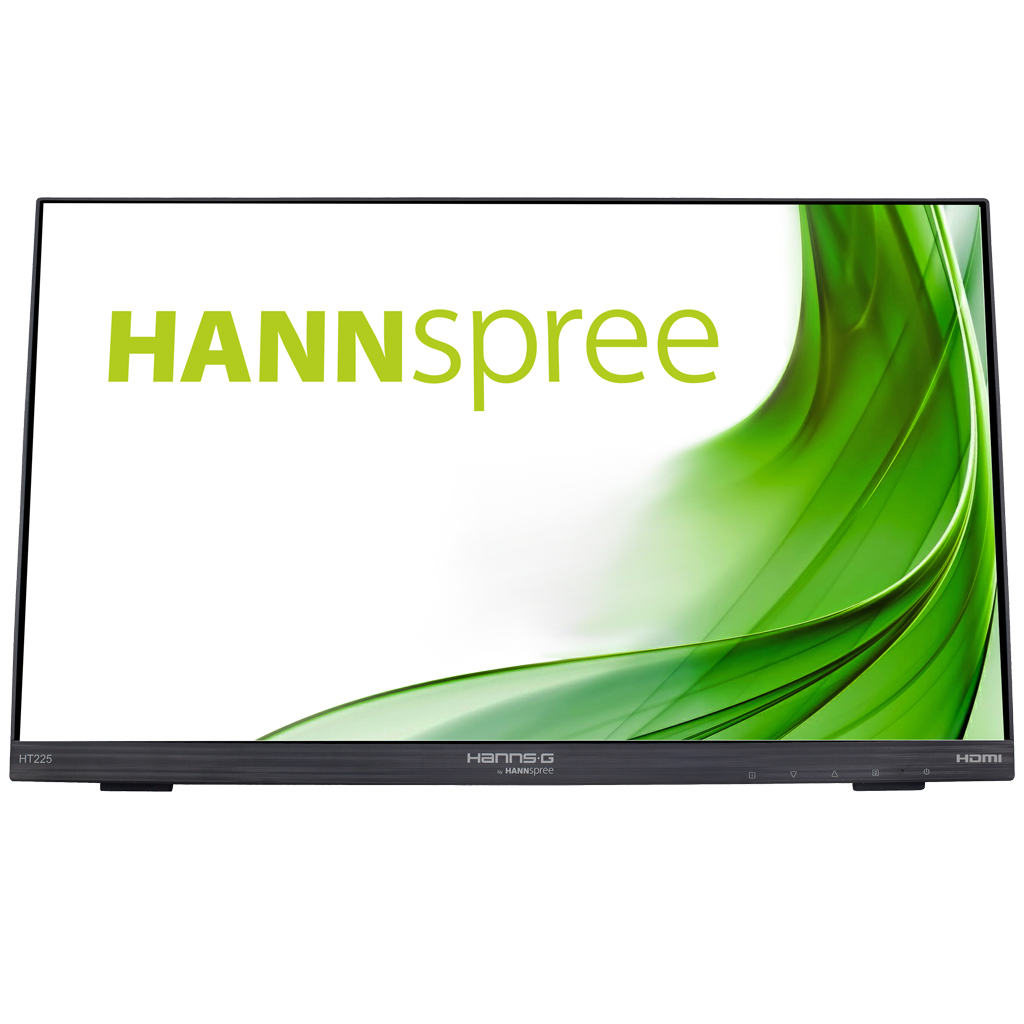 """Hannspree HT 225 HPB touch screen monitor 54.6 cm (21.5"""") 1920 x 1080 pixels Black Multi-touch Tabletop"""