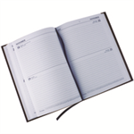 Collins 2012-13 Diary A5 Day a Page Appts Mid Year Black personal organizer