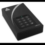 Apricorn Aegis Padlock DT 2TB external hard drive 2000 GB Black