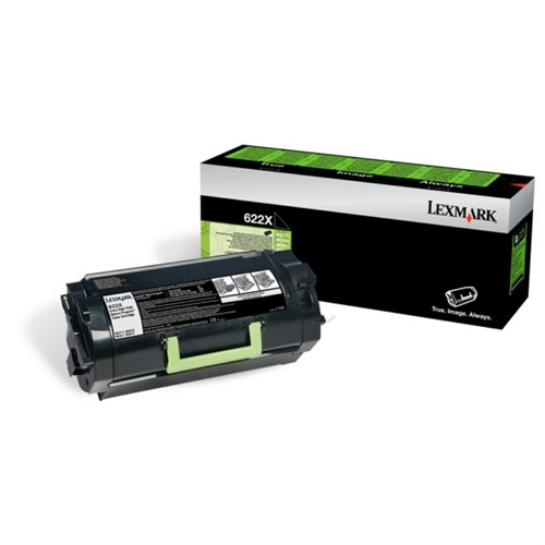 Lexmark 62D2X00 (622X) Toner black, 45K pages
