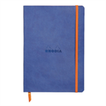 RHODIA rama Softcover Notebook Lined A5 Sapphire Blue