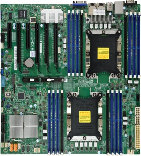 Supermicro X11DPi-N Intel C621 Extended ATX server/workstation motherboard