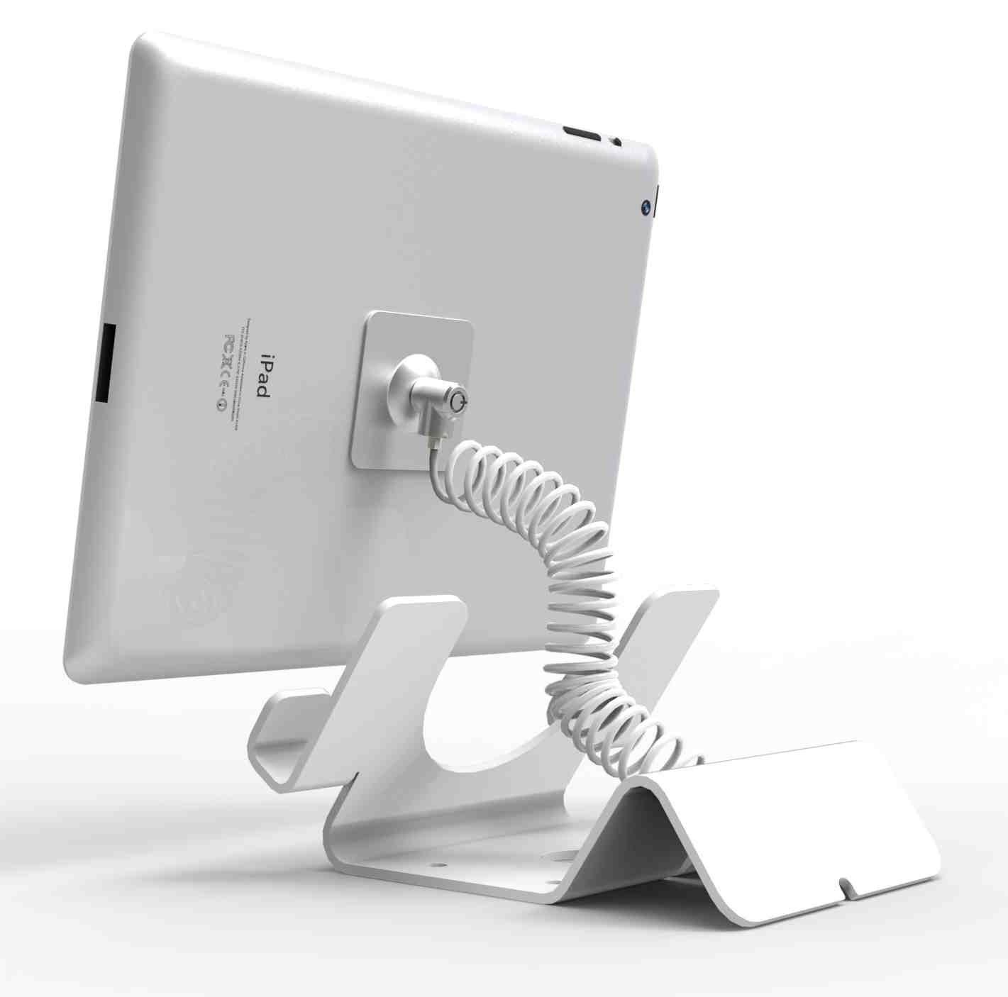 Compulocks CL12UTHWB houder Tablet/UMPC Wit Passieve houder