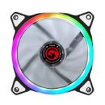Marvo FN-14 RGB computer cooling component Computer case Fan 12 cm Black, White