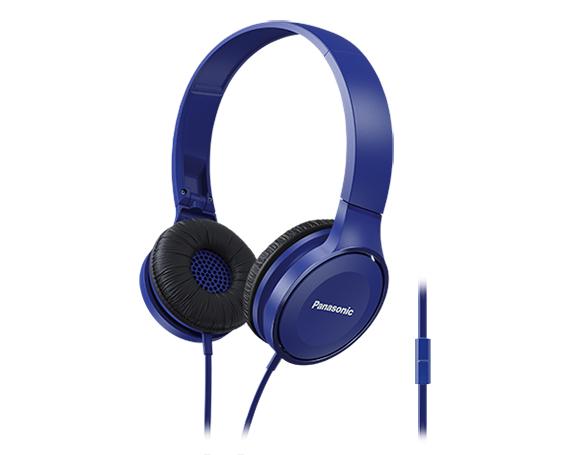 Panasonic RP-HF100ME Binaural Head-band Blue headset