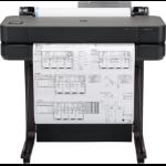 HP Designjet T630 large format printer Wi-Fi Thermal inkjet Color 2400 x 1200 DPI 610 x 1897 mm Ethernet LAN