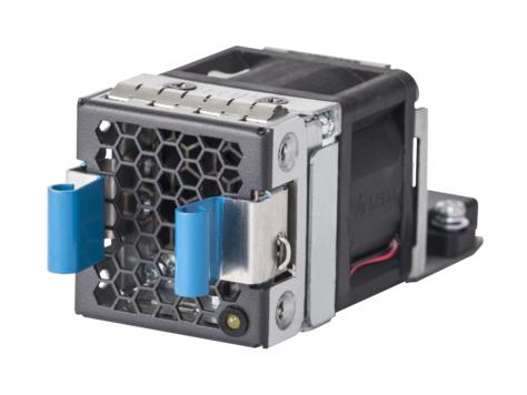Hewlett Packard Enterprise X711 Front (Port Side) to Back (Power Side)  Airflow High Volume 2 Fan Tray Black