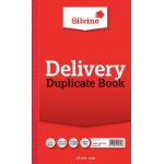 Silvine Dup Delivery Book 210x127mm Pk6