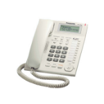 Panasonic KX-T7716X Analog telephone Identificador de llamadas Color blanco teléfono