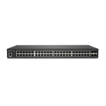 SonicWall SWS14-48 Managed L2 Gigabit Ethernet (10/100/1000) Black 1U