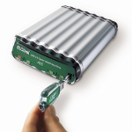 BUSlink CipherShield 1TB HDD 1000GB Green,Stainless steel