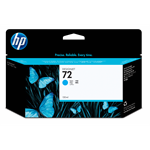 HP 72 cyaan DesignJet inktcartridge, 130 ml