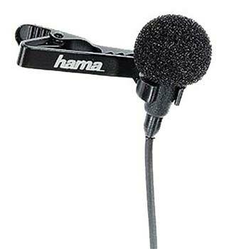 Hama LM-09 Lavalier Microphone Black