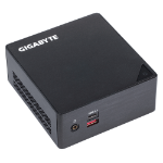 Gigabyte GB-BSI3HA-6100 2.3GHz i3-6100U BGA1356 0.6L sized PC Black barebone