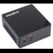 Gigabyte GB-BSI3HA-6100 2.3GHz i3-6100U BGA1356 0.6L sized PC Black barebone