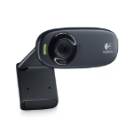 Logitech C310 1280 x 720pixels USB 2.0 Black webcam