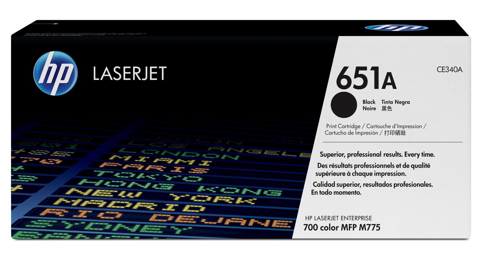HP 651A Origineel Zwart 1 stuk(s)