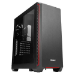 Antec P7 Window Midi-Tower Negro, Rojo