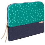 "STM Grace notebook case 38.1 cm (15"") Sleeve case Green,Navy"