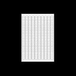 Avery L4730REV-25 printer label White Self-adhesive printer label