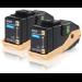 Epson Doble cartucho de tóner cian 7.5kx2