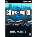 Paradox Interactive Cities in Motion 2: Bus Mania, PC/Mac/linux Video Game Downloadable Content (DLC) PC/Mac/Linux English