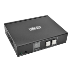 Tripp Lite HDMI/DVI Video + Audio with RS-232 Serial and IR Control over IP Transmitter, 1920 x 1440 (1080p), 100 m
