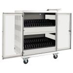Tripp Lite CSC32ACW Portable device management cart White portable device management cart & cabinet