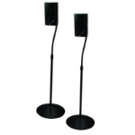 B-Tech BTV910 Floor Black speaker mount