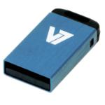 V7 Nano USB 2.0 16GB USB flash drive USB Type-A Blauw