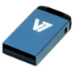 V7 Nano USB 2.0 Flash Drive 16GB Blue USB flash drive