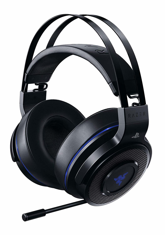 Razer Thresher For PS4 Headset Head-band Black,Blue