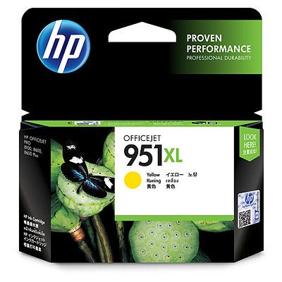 HP 951XL Yellow ink cartridge