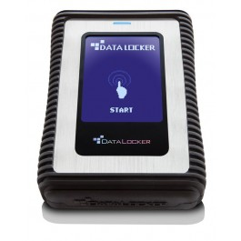 DataLocker DL3 500GB external hard drive Black,Silver