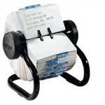 Rolodex Classic rotary 2 1/4 x 4 business card file