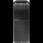 HP Z6 G4 DDR4-SDRAM 4112 Tower Intel Xeon Silver 16 GB 512 GB SSD Windows 10 Pro for Workstations Workstation Black