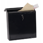 Phoenix MB0111KB mailbox Wall-mounted mailbox Black