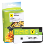 Refilled HP 953XL Yellow Ink Cartridge