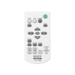 Sony RM-PJ7 IR Wireless Press buttons White remote control