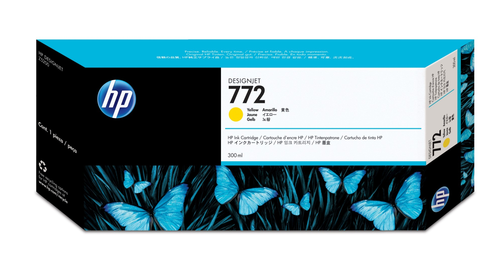 HP 772 Original Amarillo