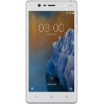 Nokia 3 Single SIM 4G 16GB Zilver, Wit