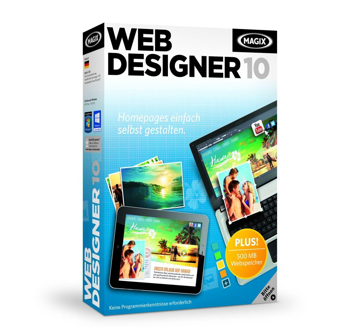 Magix Web Designer 10