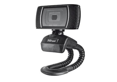 Trust Trino HD Video webcam 8 MP USB Black