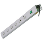 Lindy 29980 power distribution unit (PDU) Grey