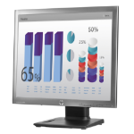 "HP EliteDisplay E190i 48 cm (18.9"") 1280 x 1024 pixels LED Silver"