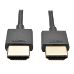 Tripp Lite Slim High-Speed HDMI Cable with Ethernet and Digital Video with Audio, UHD 4K (M/M), 0.91 m