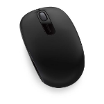 Microsoft Wireless Mobile Mouse 1850 Coal Black Mini USB Transceive