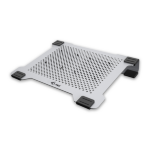 "i-tec COOLPAD 15.6"" 2200RPM Silver notebook cooling pad"