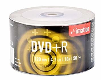 Imation 73000019213 4.7 GB DVD+R 50 pc(s)